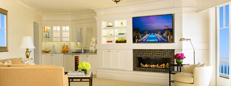 Montage Laguna Beach Hotel Sunset Suite Living Room