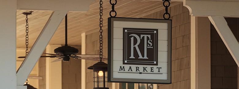Montage Palmetto Bluff's RT's Market Sign