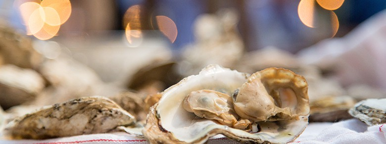 Montage Palmetto Bluff Wedding Reception Culinary Oysters