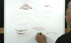 Beginning Head Drawing   Part 5: The Mouth