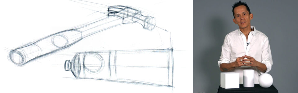 Week 3:  Introduction to Drawing Forms in Perspective