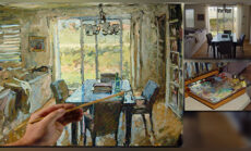 Painting Interiors: Achieving Atmospheric Perspective and Refinement