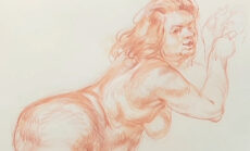 Friday Figure Drawing Archive 23