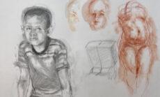 Exploring Drawing Materials Week 9