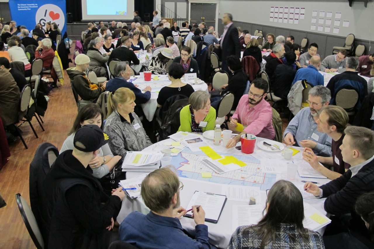 Assembly's Draft Neighbourhood-wide Recommendations Vetted by Community at Second Public Roundtable