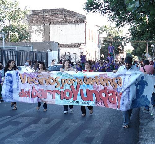 Vecinos por la Defensa del Barrio Yungay