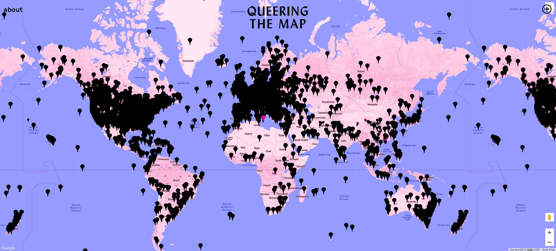 Queering the Map Homepage