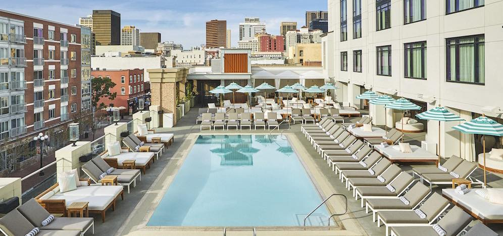 San diego boutique hotel gaslamp hotels pendry hotels for Wellness retreat san diego