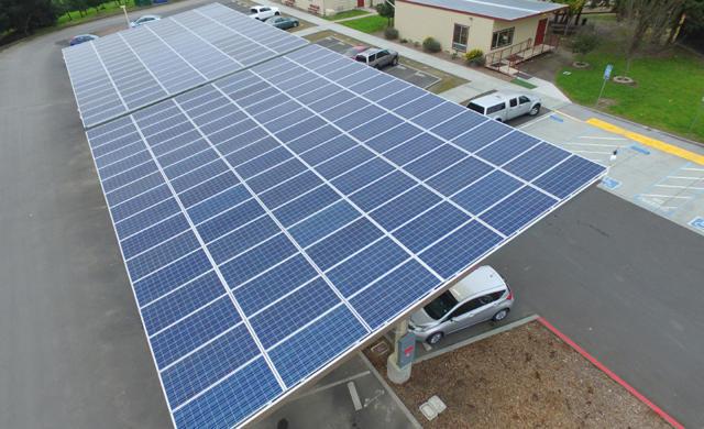 Petaluma City Schools Solar