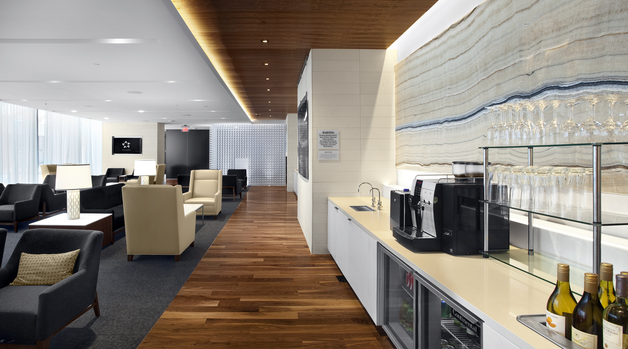 Star Alliance Lounge At Lax Performance Contracting Inc