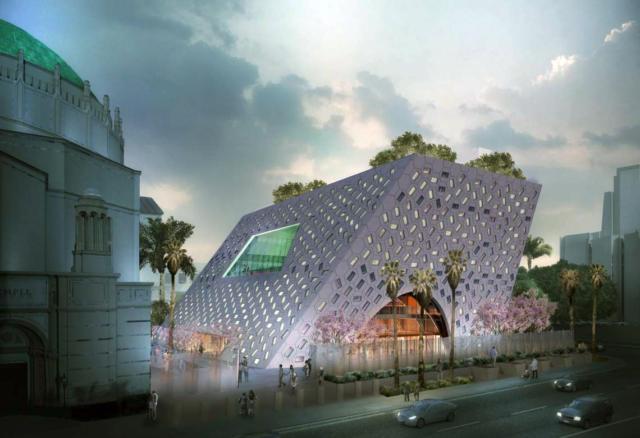Wilshire Boulevard Temple, Audrey Irmas Pavilion