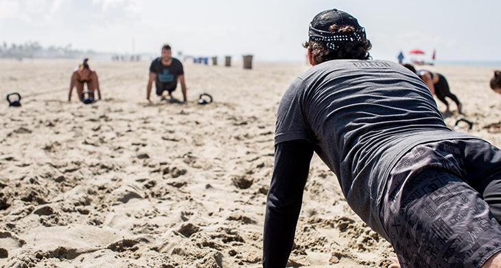 Santa Monica Beach Workouts CrossFit