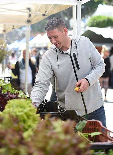 Chef Prendergast Farmers Market