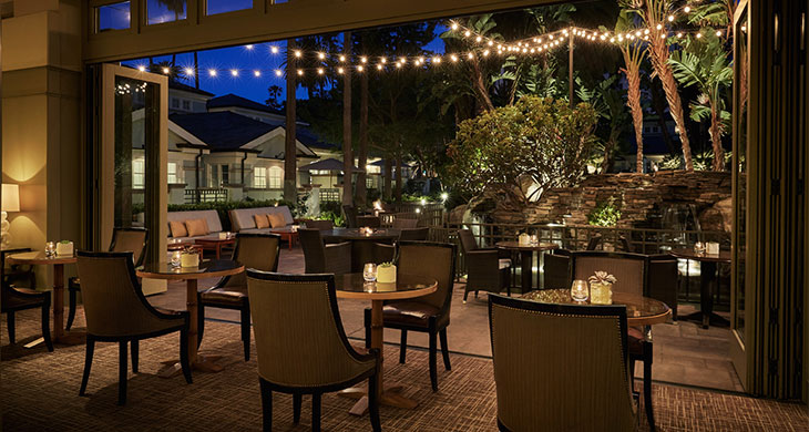 The Lobby Lounge at Fairmont Miramar in Santa Monica, California