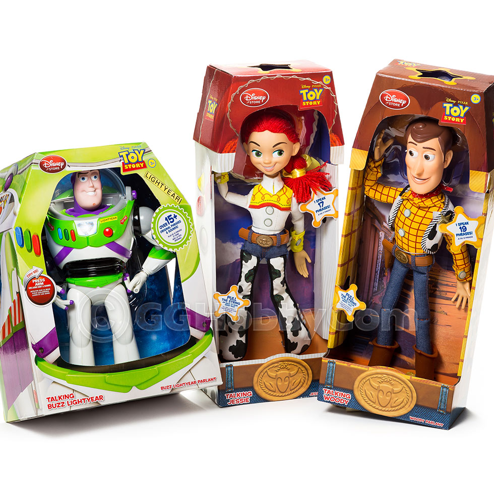 Toy Story Figures : Disney toy story talking woody buzz lightyear jessie