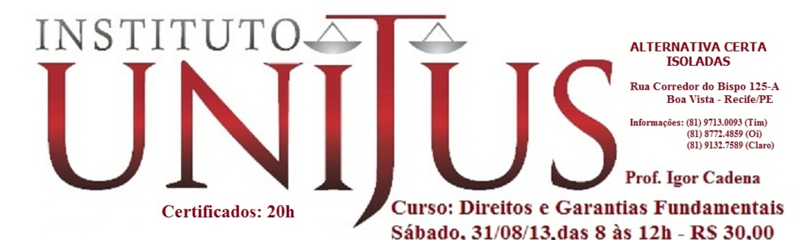 Header direitos e garantias fundamentais unijus