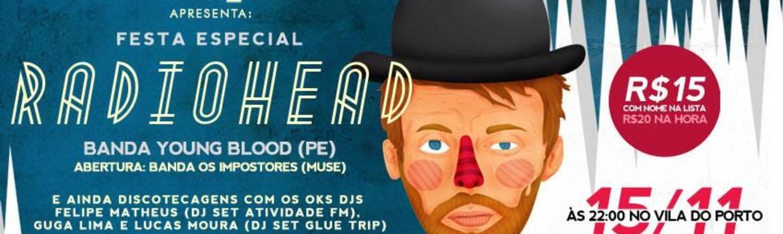 Header festa especial radiohead