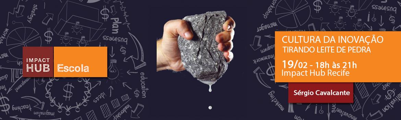 Header tirando leite de pedra eventick