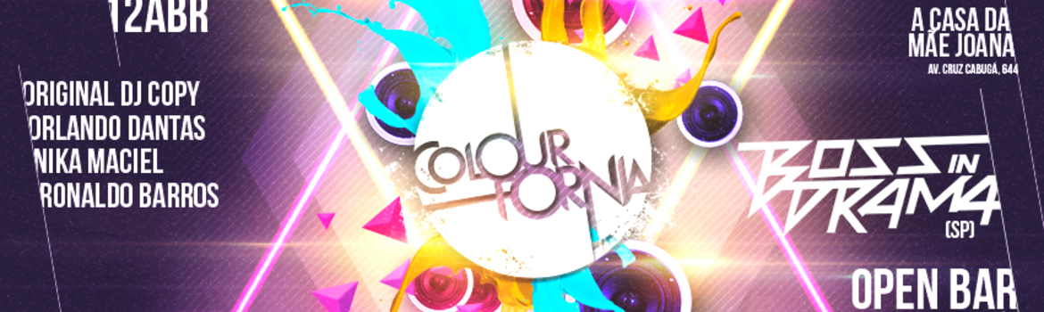 Header banner colourfornia