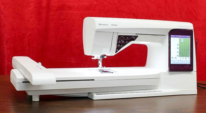 Top 40 Reasons Why I Love The Husqvarna Viking Designer Ruby Royale Fascinating Husqvarna Designer Ruby Sewing Machine