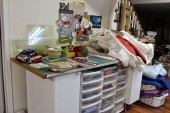 Quilting Studio Chaos!