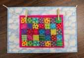 Quilted Postcards, The Card is in the Mail