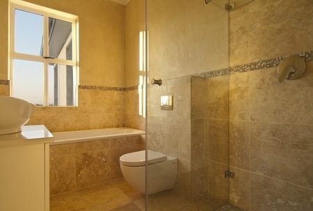Bathroom Tiles Height at what height in the shower should i install a border? - levi's 4