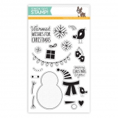 BUILD A SNOWMAN Clear Stamps | Simon Says STAMP!