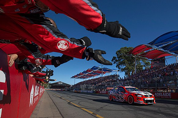 James Courtney leads V8 Supercars