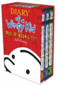 Diary of a Wimpy Kid Box of Books 1-3 by Jeff Kinney, Abrams, Harry N., Inc. | Hardcover
