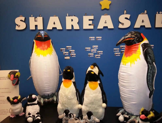ShareASale World Penguin Day - The Wall