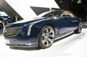 Cadillac Elmiraj at New York Auto show