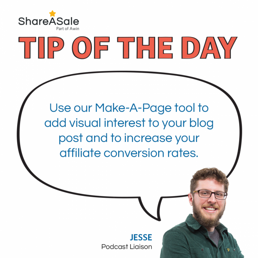 TOTD: Utilize the Make-A-Page tool to your blog post