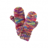 3. Le Big Neon Mittens | Tea Collection
