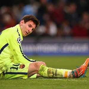 Lionel Messi Has Scans On His Foot