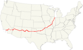 U.S. Route 66 - Wikipedia, the free encyclopedia