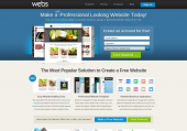 Webs - Make a free website, get free hosting