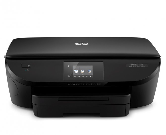 The New HP Envy 5640 e-All-in-One Printer