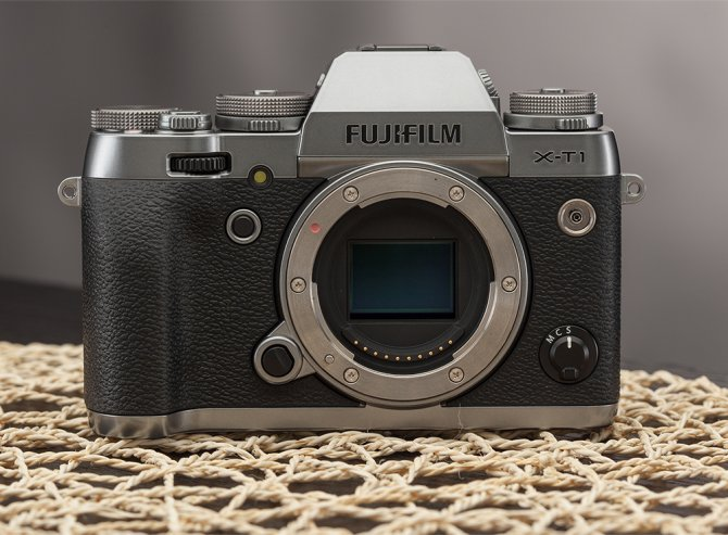 The Fujifilm X-T1 Graphite Silver