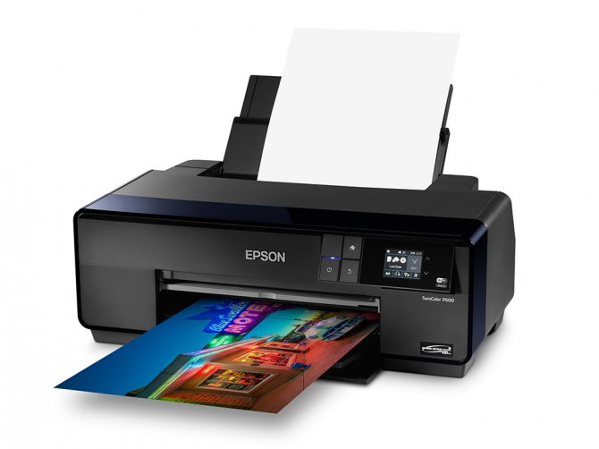 The Epson SureColor P600