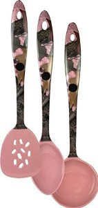 Pink Camo Kitchen Utensil Set by Rivers Edge