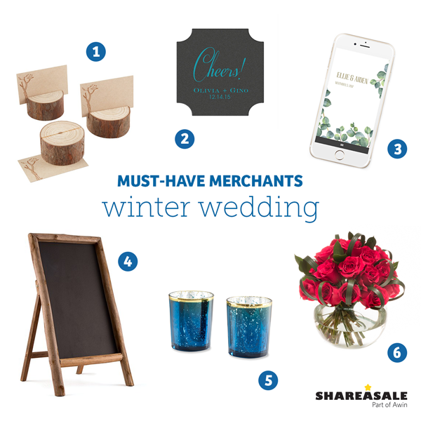 Must-Have Merchants: For a Winter Wedding