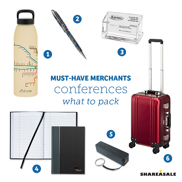 Must-Have-Merchants: Packing For Conferences