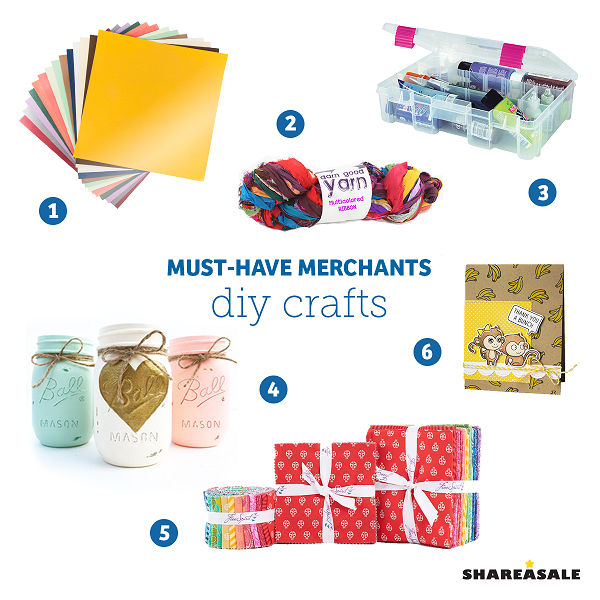 Must-Have-Merchants: DIY Crafts