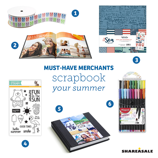 Must-Have-Merchants: Scrapbook Your Summer