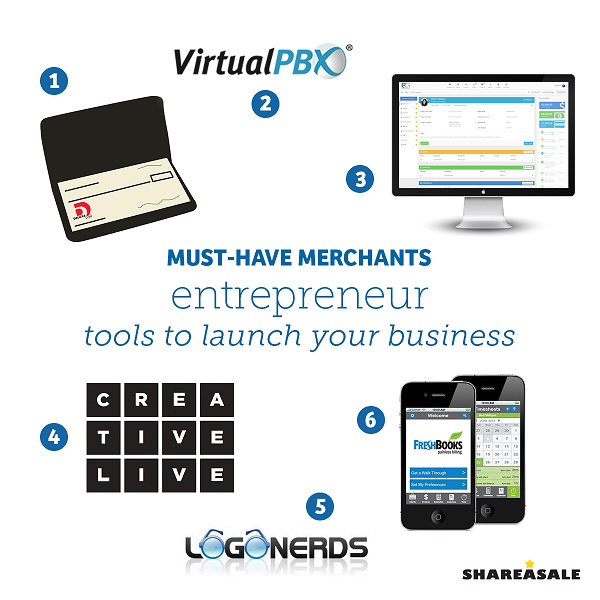 Must-Have-Merchants: Entrepreneur - Tools To Launch Your Business