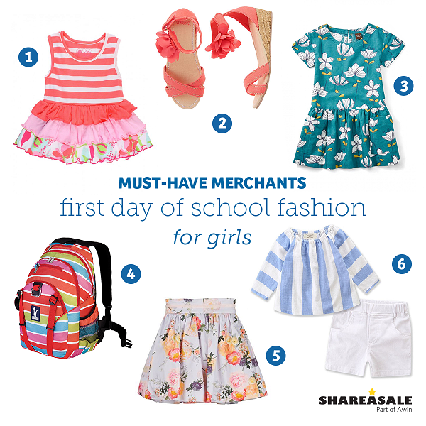 Must-Have Merchants: First Day Of School Fashion For Girls