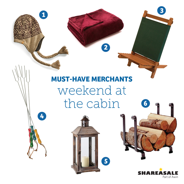 Must-Have Merchants: Weekend at the Cabin