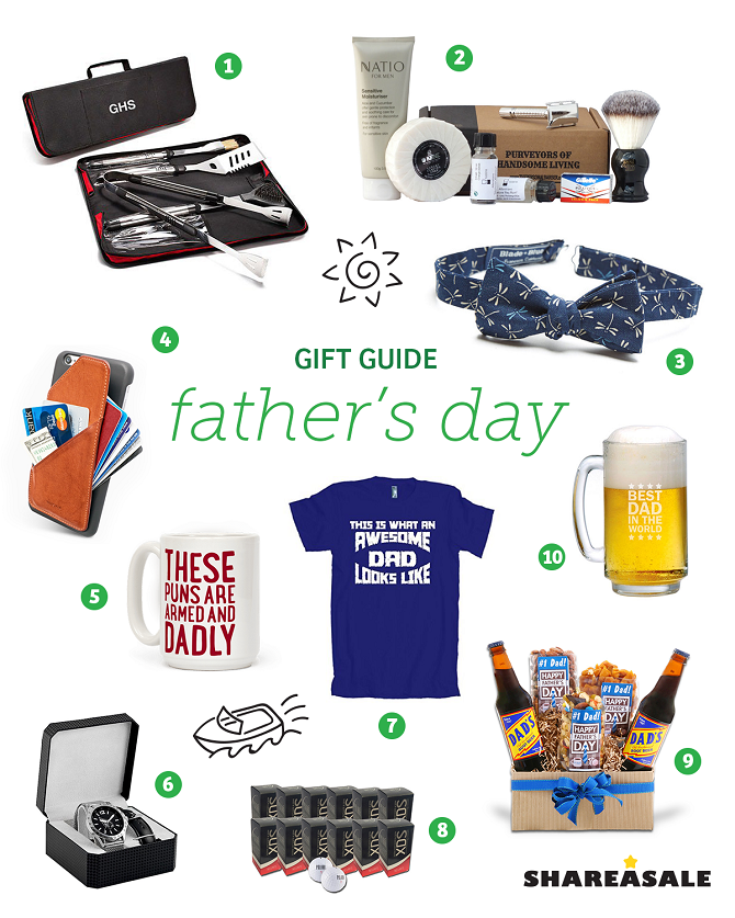 Father's Day Gift Guide - ShareASale Blog