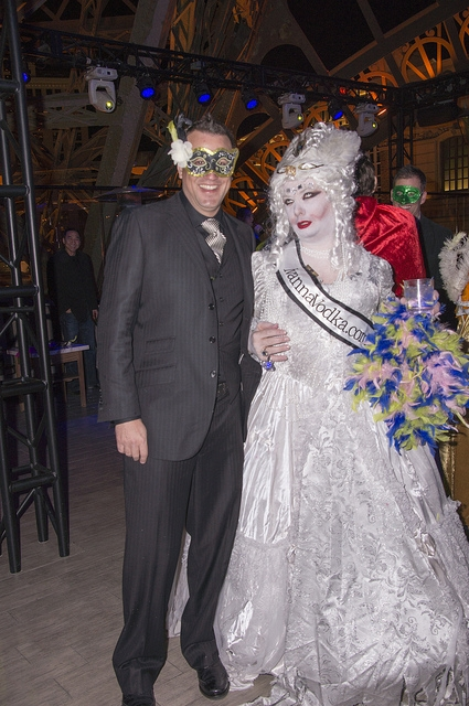 The winner from the 2013 ASW Masquerade party!